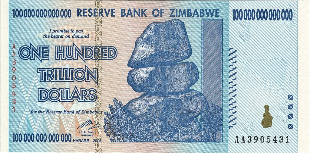The MMT Question – So, What Tax Rate Would Solve Zimbabwe's 500% Inflation Rate?